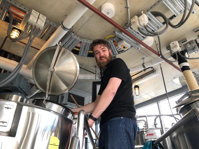 Brewing at Beerland Brewing