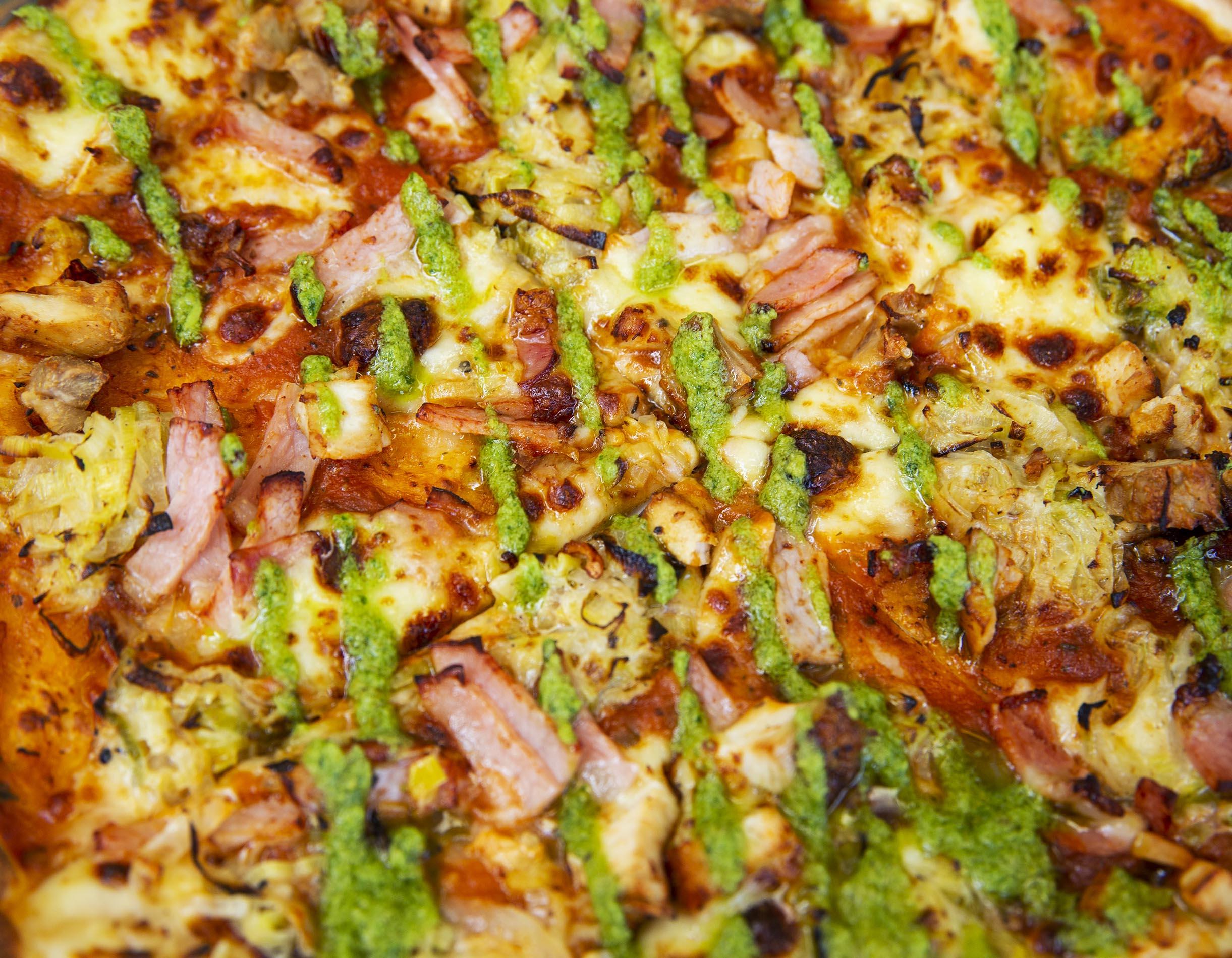 Winter Menu 2021 - Chicken Pizza