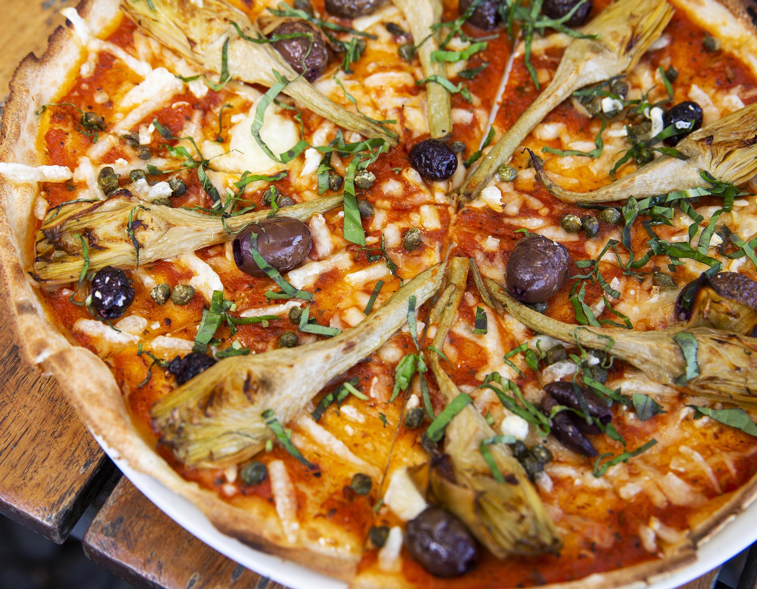 Winter Menu 2021 - Puttanesca Pizza