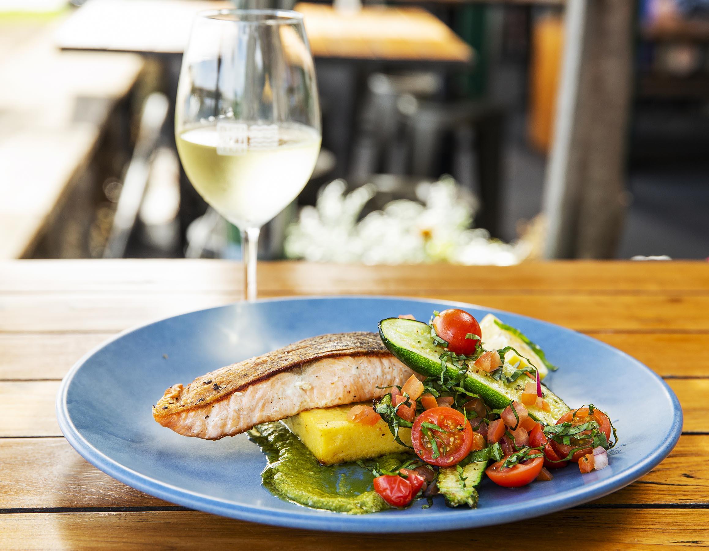 Winter Menu 2021 - Tasmanian Salmon